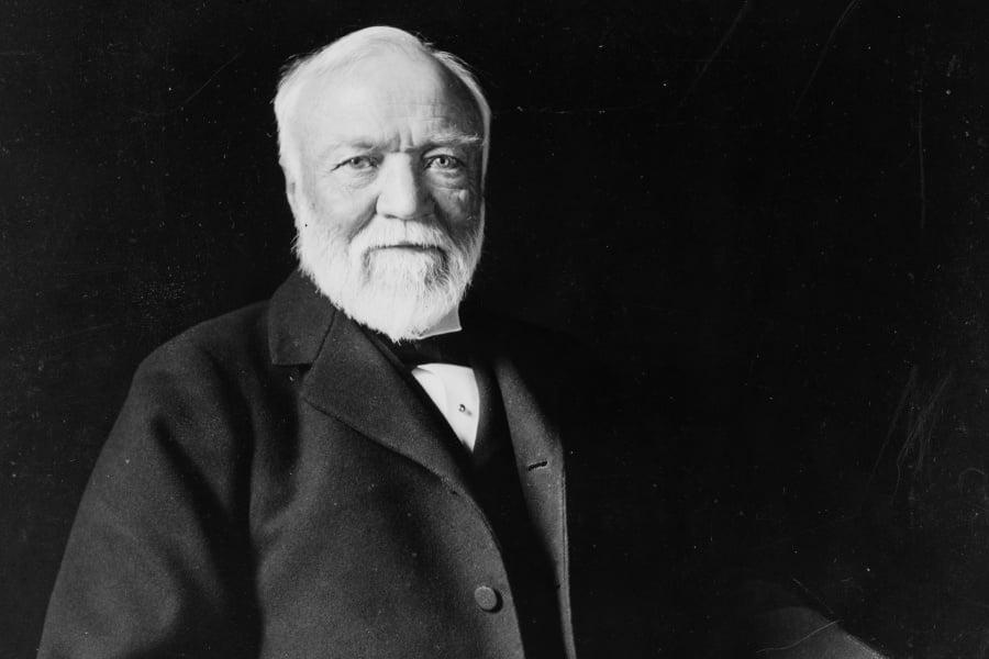 Andrew Carnegie | Amigos de los Dinosaurios y la Paleontología