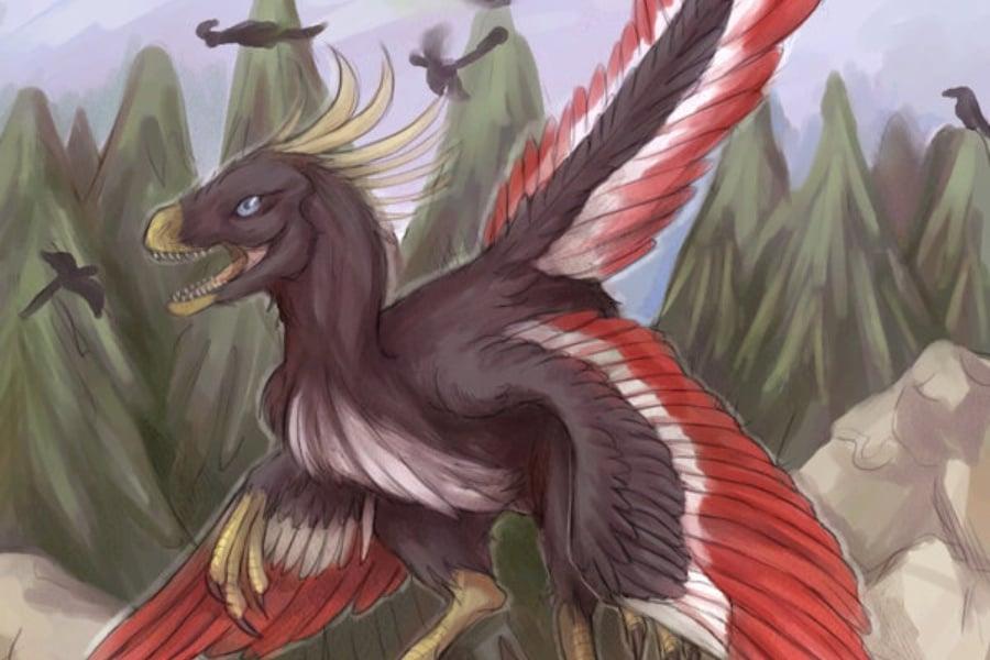 Archaeopteryx | Amigos de los Dinosaurios y la Paleontología