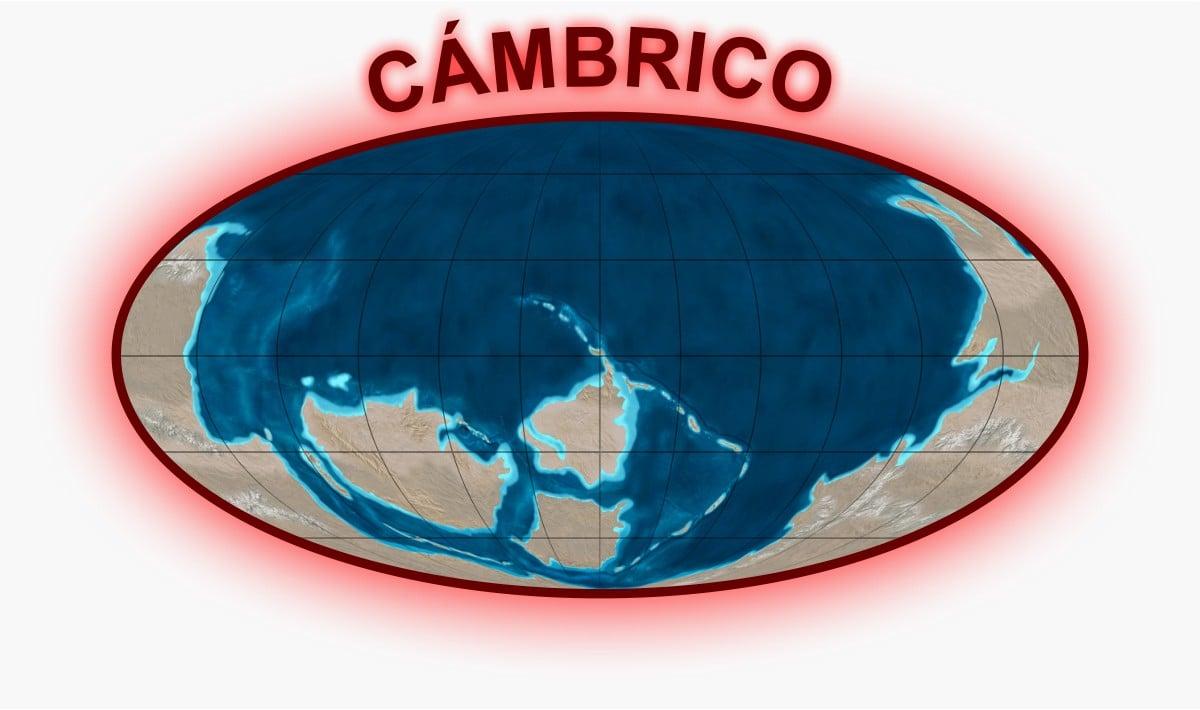 Cámbrico Mapa