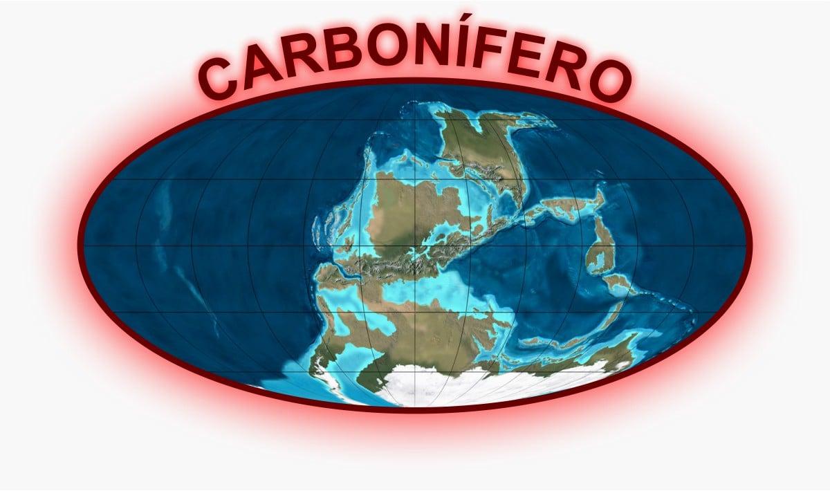 Carbonífero Mapa
