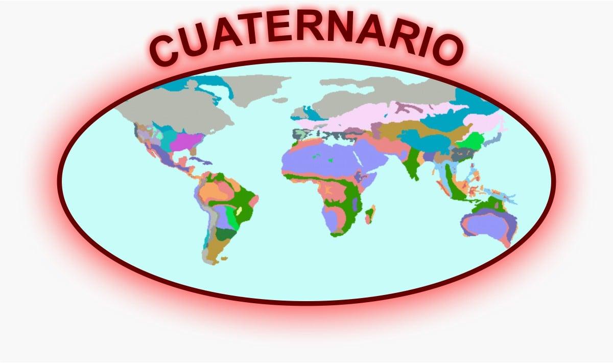 Cuaternario Mapa