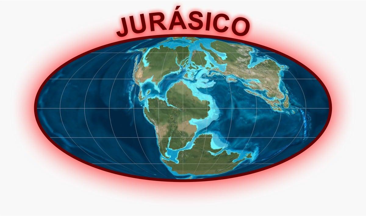 Jurásico Mapa