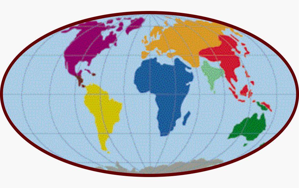 Mapa Cenozoico