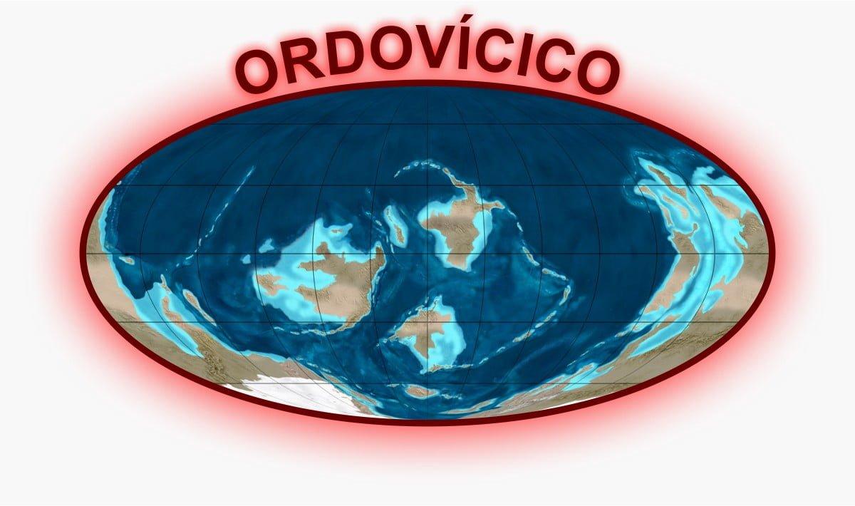 Ordovícico Mapa