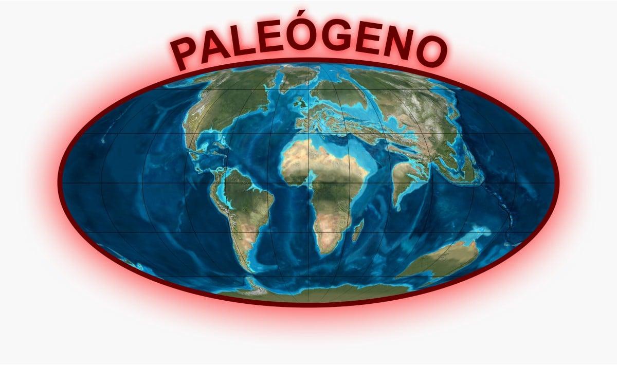 Paleógeno Mapa