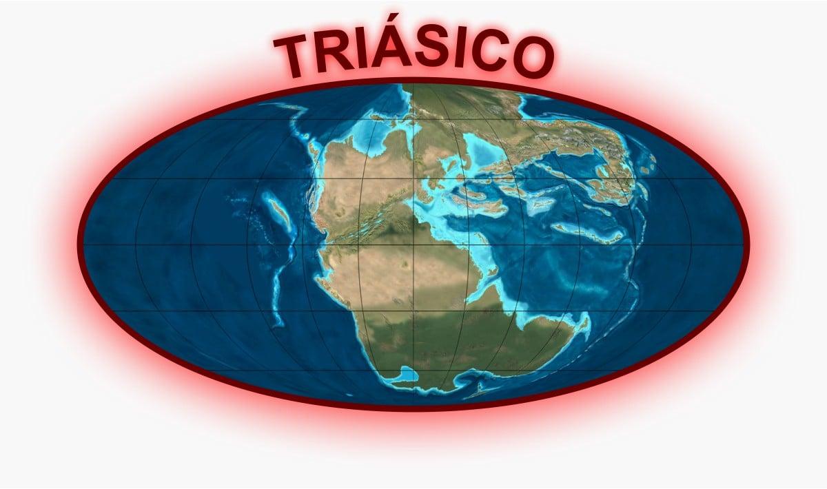 Triásico Mapa
